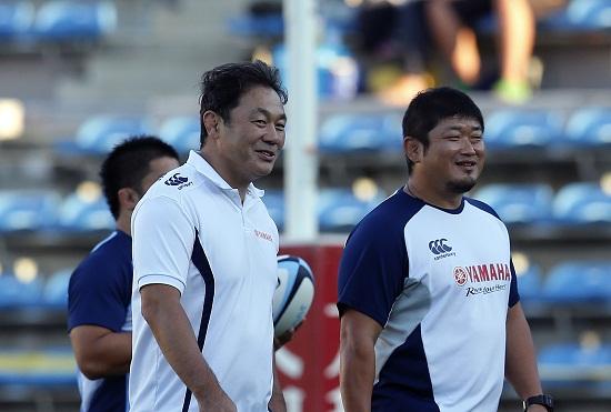 清宮監督と長谷川コーチ