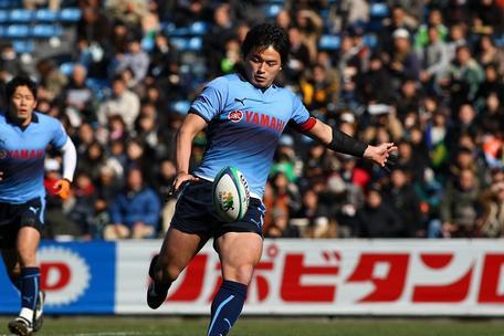NEC戦の五郎丸選手