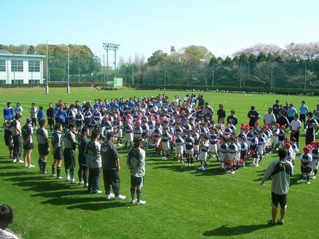 2010年度ラグビースクール開校式
