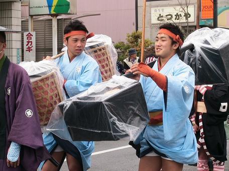 越村選手と中園選手