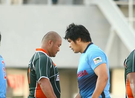 第4節での田村選手(右)
