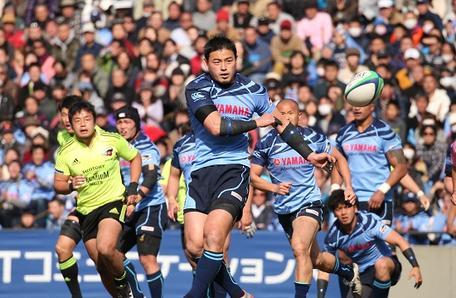 日本選手権決勝戦での五郎丸選手