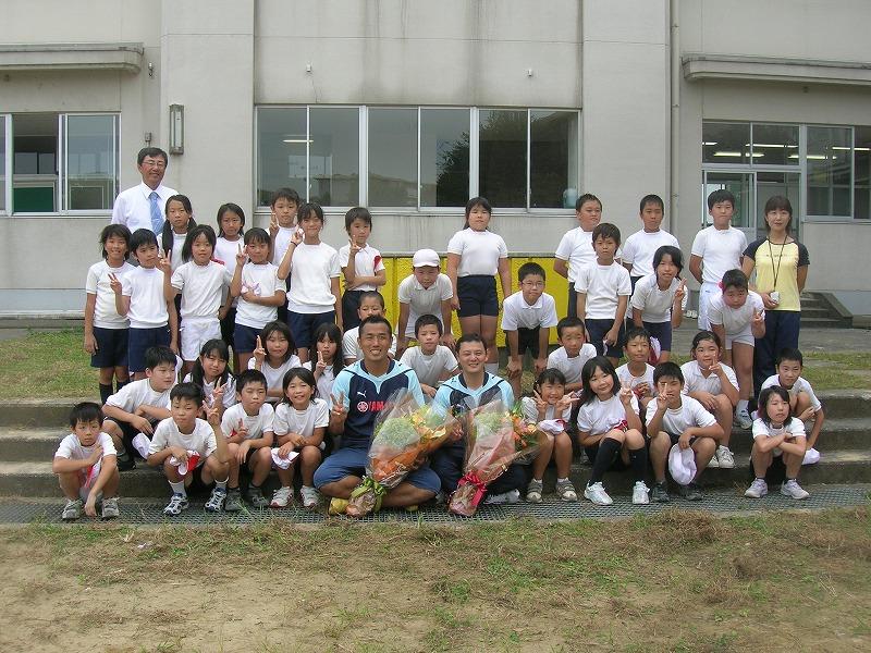 新神田小学校の4年生たちと 2009年度 10月 金沢市立新神田小学校の皆様へ ここから本文です